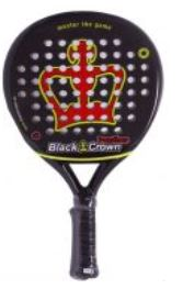 pala de padel black crown panther