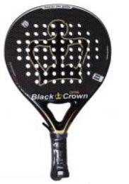 pala de padel black crown omni