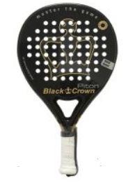 pala de padel black crown piton