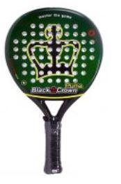 pala de padel black crown puma