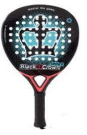 pala padel black crown spider